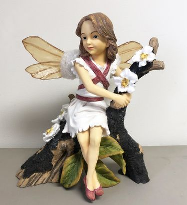 Cherry Blossom Fairy Statue - Click to enlarge