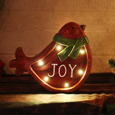 Christmas Cardinal Bird Decor (Set of 2) - Click to enlarge