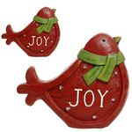 Christmas Cardinal Bird Decor (Set of 2)