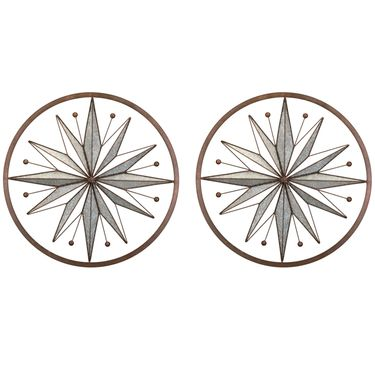 Circle Stars Wall Decor (Set of 2) - Click to enlarge