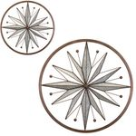 Circle Stars Wall Decor (Set of 2)