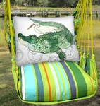 Citrus Gator & Egret Hammock Chair Swing Set