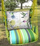 Citrus Hummingbird Study Hammock Chair Swing Set