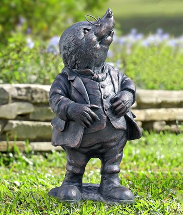 Classy Mole Garden Statue - Click to enlarge