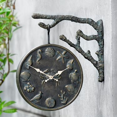 Coastal Underwater Clock & Thermometer - Click to enlarge