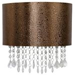 Copper Flower Textured Sconce