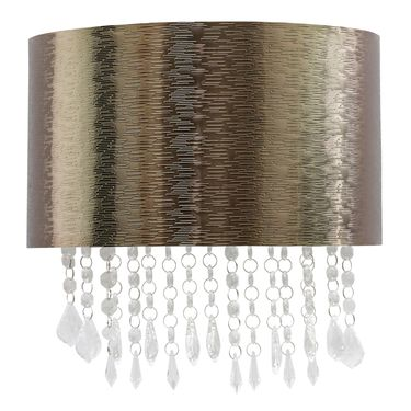 Copper Linear Textured Sconce - Click to enlarge