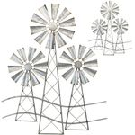 Country Windmills Wall Decor (Set of 2)