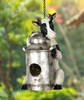 Cow & Pail Bird House