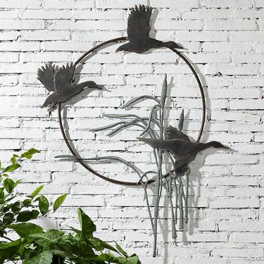 Crane Trio Wall Art Decor - Click to enlarge