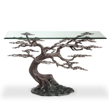 Cypress Tree Console Table - Click to enlarge