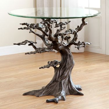 Cypress Tree End Table - Click to enlarge