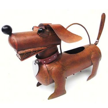 Dachshund Daisy Watering Can - Click to enlarge