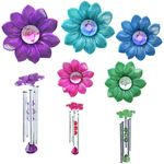 Dazzling Daisy Wind Chimes