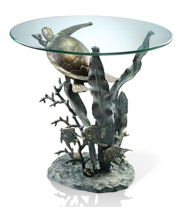 Deep Sea Turtle Table - Click to enlarge