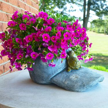 Denim Cap Planter - Click to enlarge