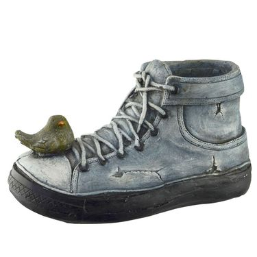 Denim Shoe Planter - Click to enlarge