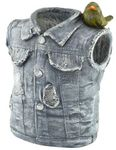 Denim Vest Planter