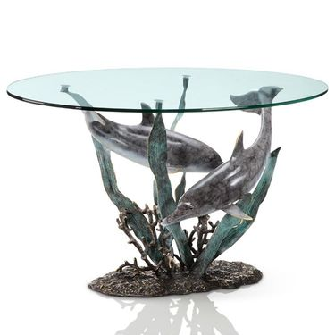 Dolphin Duet Coffee Table - Click to enlarge