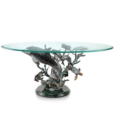 Dolphin Seaworld Coffee Table - Click to enlarge
