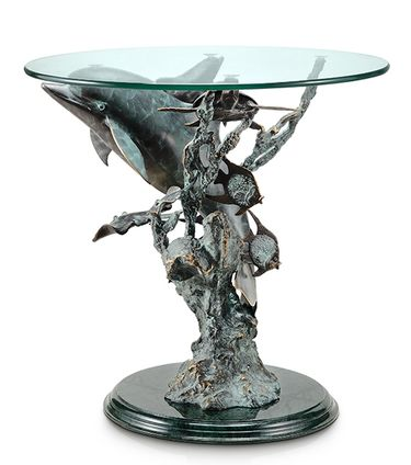 Dolphin Seaworld End Table - Click to enlarge