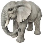 "Elephant Standing w/Trunk Down ""Ultra-Realistic"""