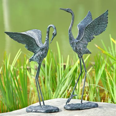 Exalted Cranes (Set of 2) - Click to enlarge