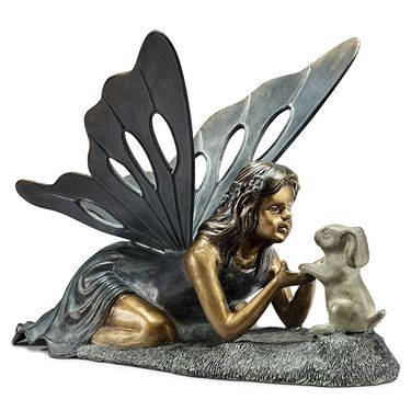 Fairy Friend Garden Sculpture - Click to enlarge