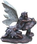 Bronze Fairy on Mushroom