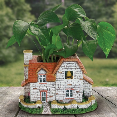 Fairytale Cottage Planter - Click to enlarge
