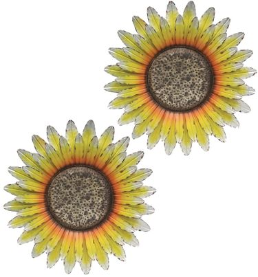 Farm Sunflowers Wall Decor (Set of 2) - Click to enlarge
