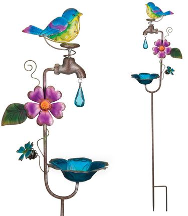 Faucet Bird Feeder Stakes (Stet of 2) - Click to enlarge