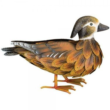 Female Wood Duck Statue - Click to enlarge
