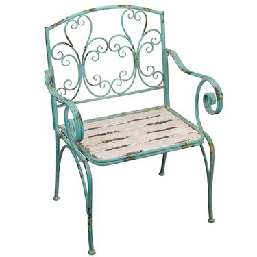 Fleur de Lis Chair - Click to enlarge