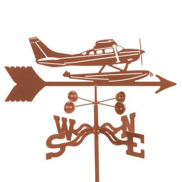 Float Plane Weathervane - Click to enlarge