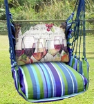 Folsom Wine Line Hammock Chair Swing Set