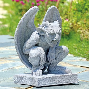 Frightful Gargoyle Sculpture - Click to enlarge