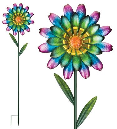 Funky Wild Flower Garden Stakes (Set of 2) - Click to enlarge
