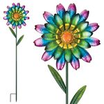 Funky Wild Flower Garden Stakes (Set of 2)
