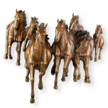 Galloping Horses Wall Plaque - Click to enlarge