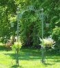 Garden Arch w/Hanging Buckets - Antique Green