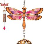 Garden Dragonfly Wind Chimes (Set of 2)