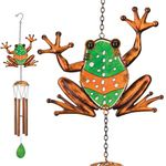 Garden Frog Wind Chimes (Set of 2)
