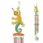 "23"" Gecko Wind Chime (Set of 2)"