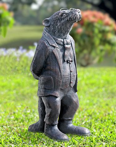Gentleman Mole Garden Statue - Click to enlarge