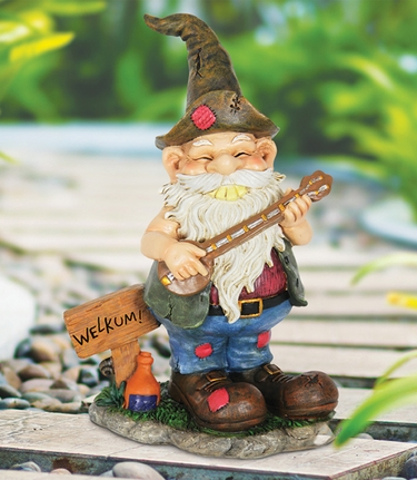 Welkum Redneck Gnome - Click to enlarge