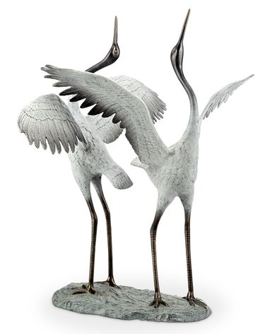 Good Fortune Garden Birds Sculpture - Click to enlarge