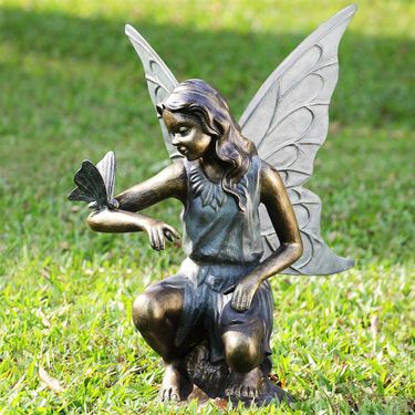 Grace Fairy Garden Sculpture - Click to enlarge