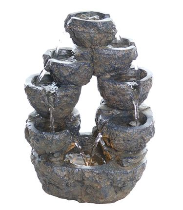 Grey Rock Tabletop Fountain - Click to enlarge