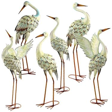 Assorted Great White Herons (Set of 6) - Click to enlarge